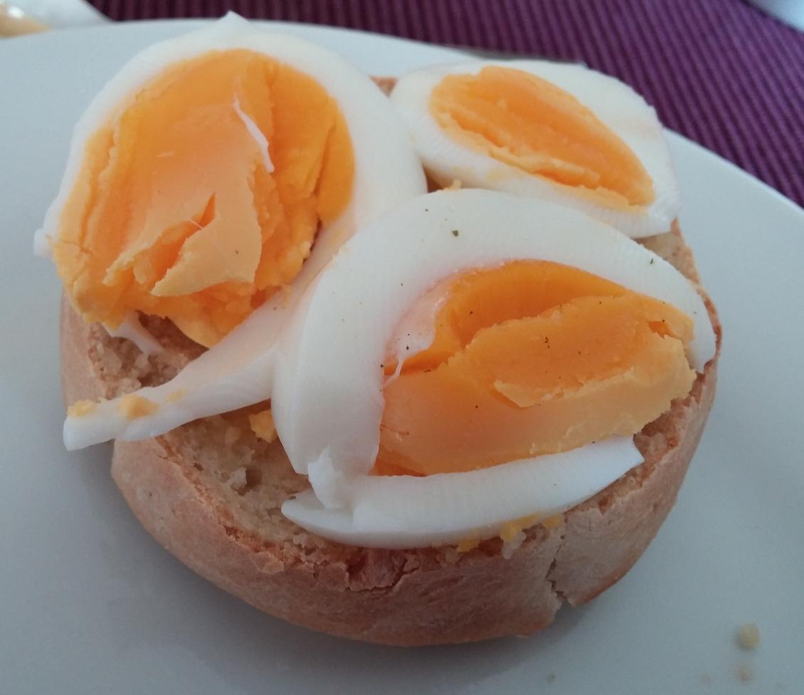 Herzhaft mit Ei