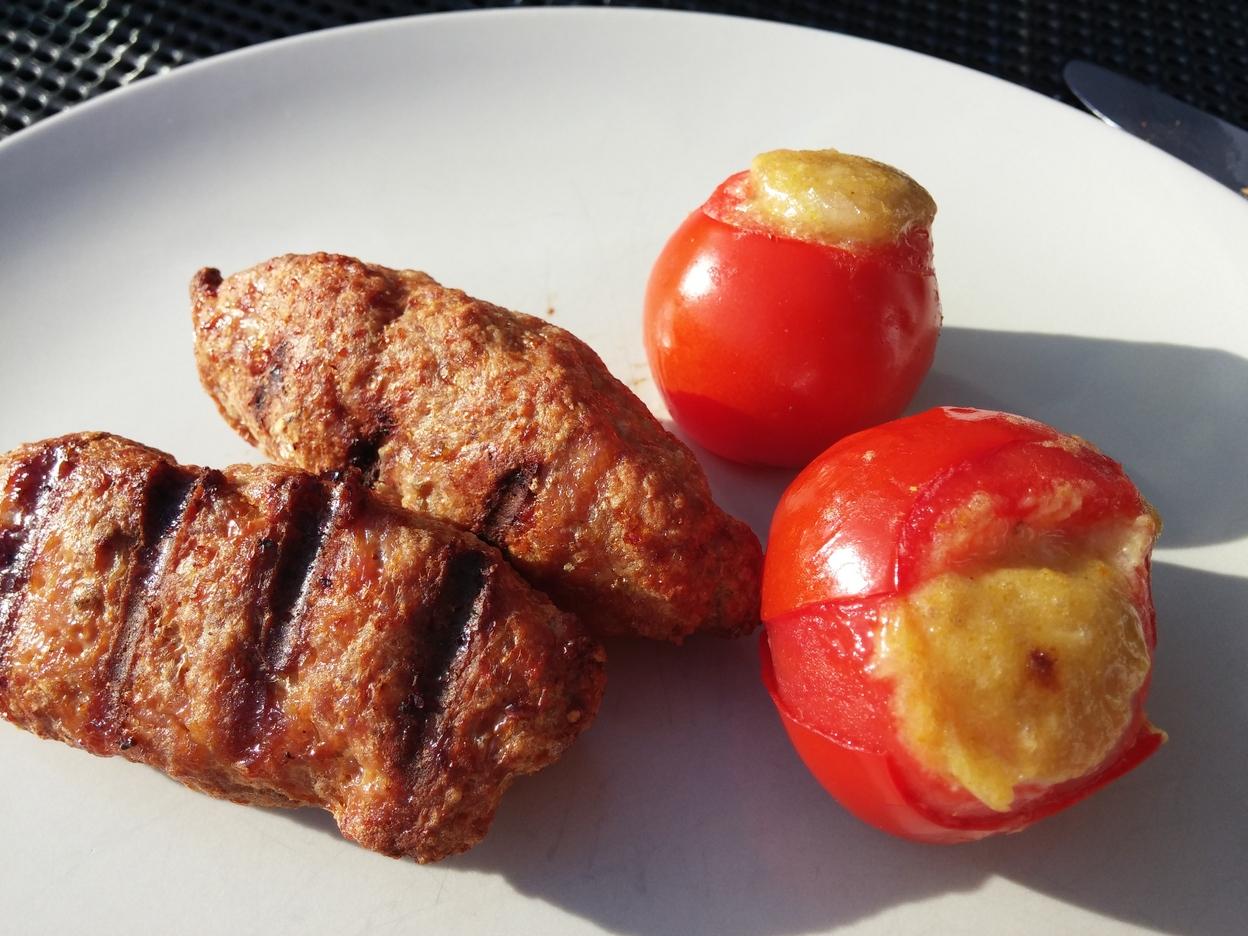 Und Tomaten dazu