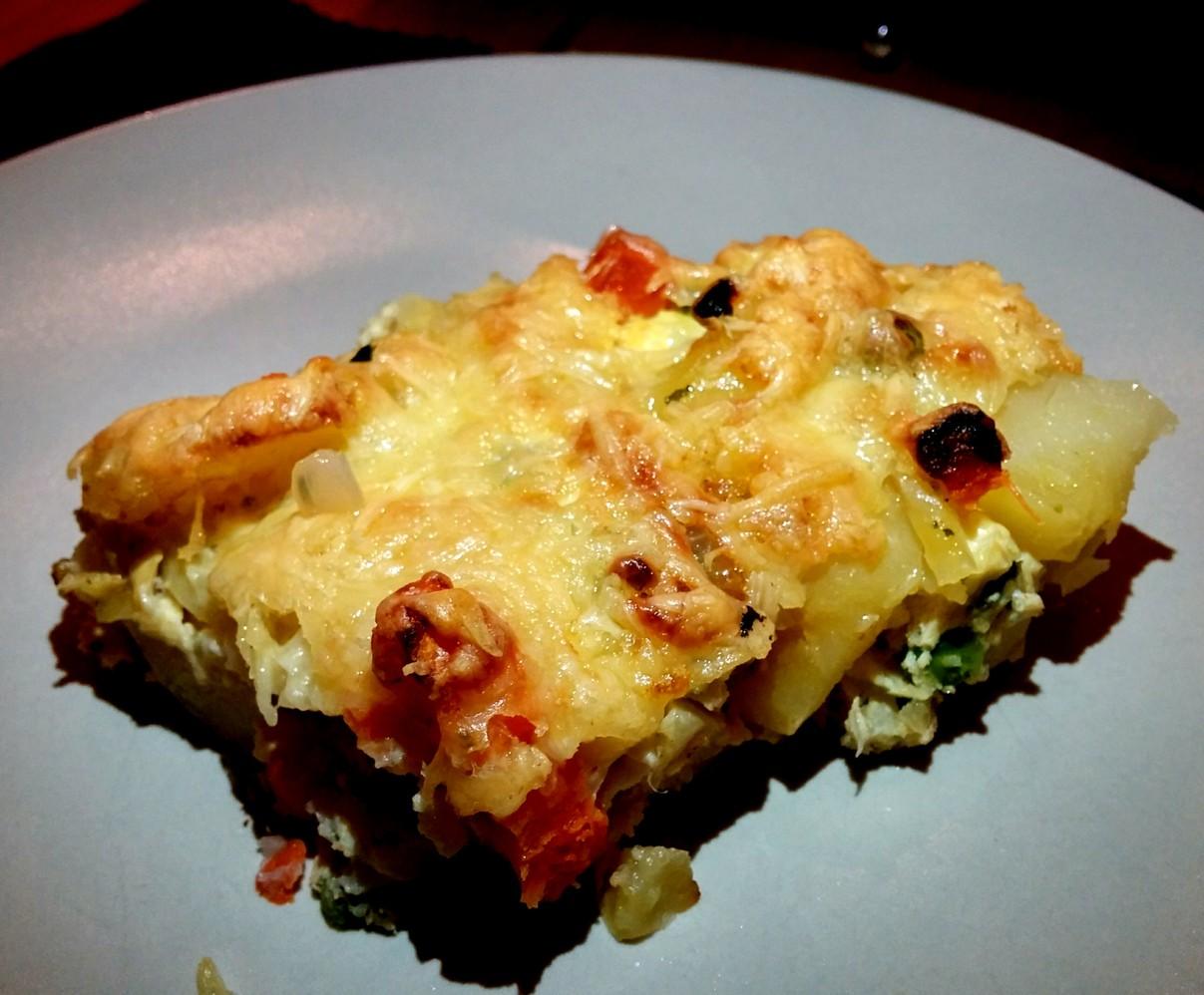 Guten Appetit - Gemüse-Frittata vom Grill!