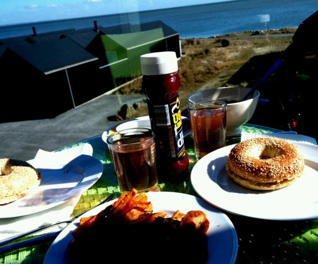 Ist das nicht ein fantastischer Ausblick beim Essen?