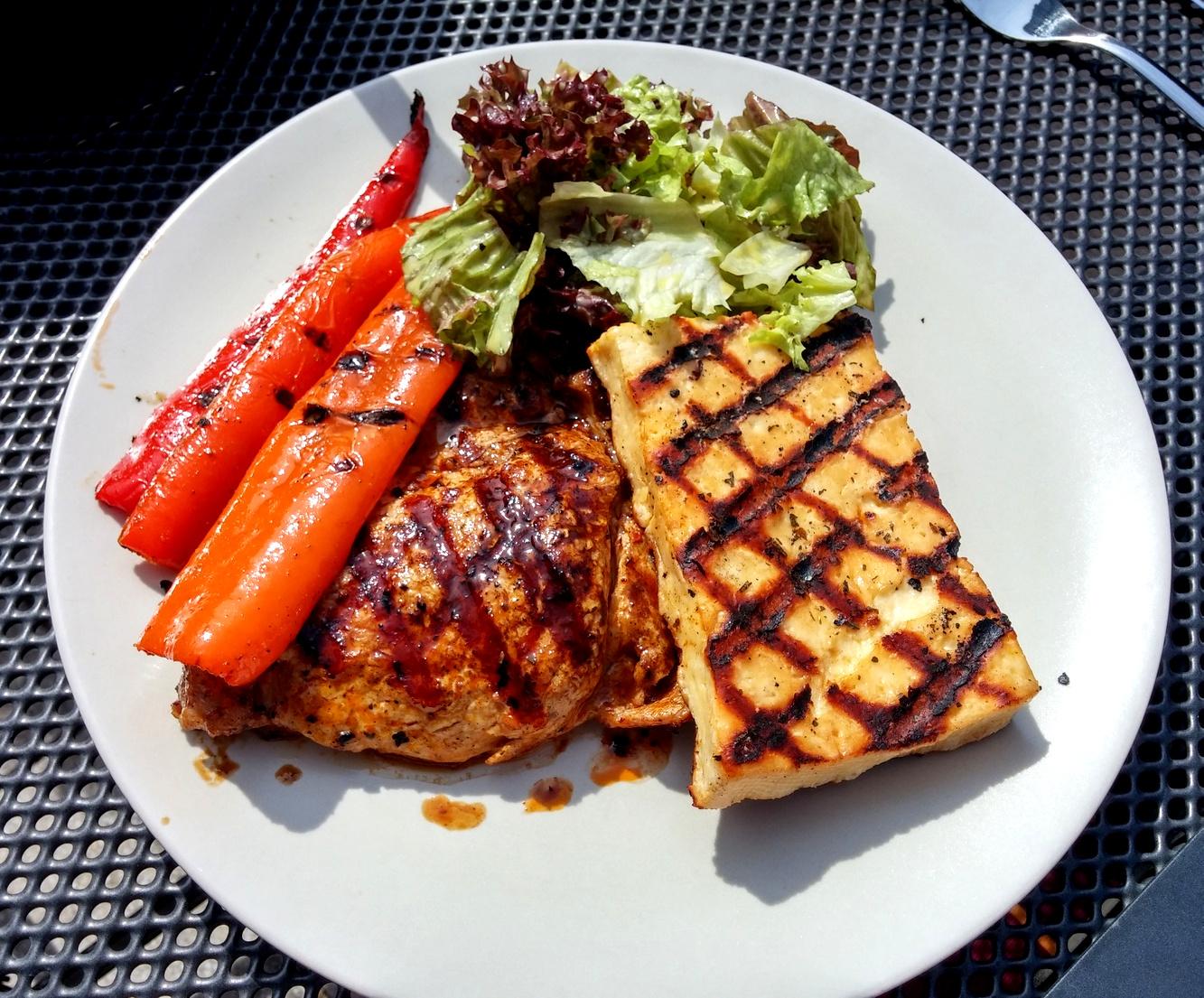 würzige marinade für grillkäse