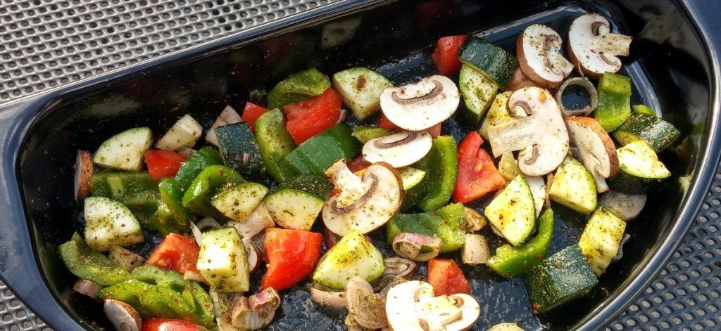 Auch für das Grillgemüse verwende ich die BBQ Gewürzmischung von Ankerkraut.