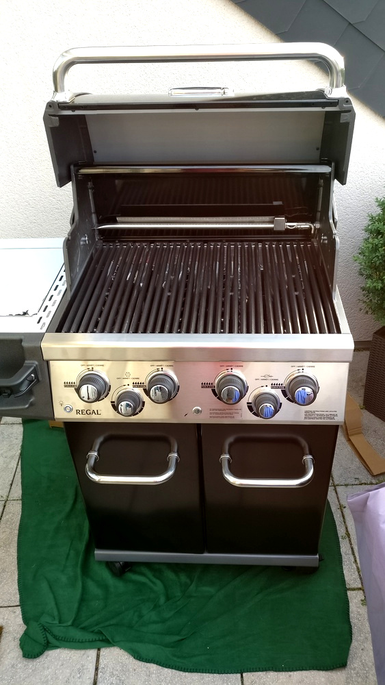 10 Gussroste in Broil King Regal 490 einlegen