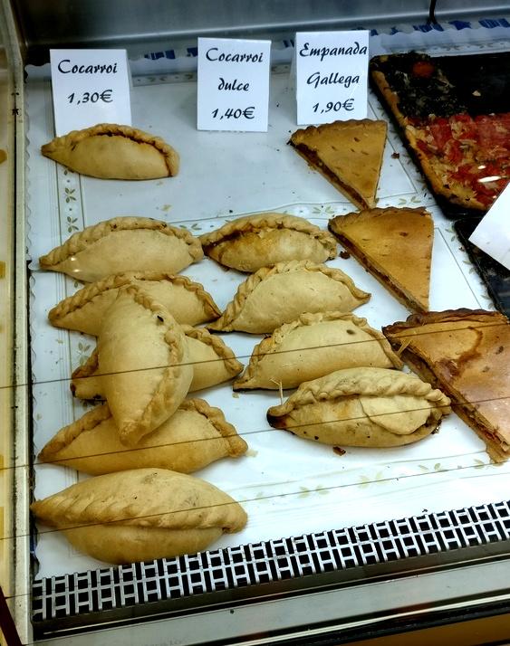 Cocarrois und Empanadas