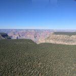 Grand Canyon von oben - Anflug mit Helikopter