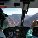 Ausblick aus dem Helikopter