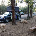 Unser Jucy Campervan auf dem Mather Campground am Grand Canyon