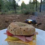 Leckerer Grand Canyon Zucchini Bagel!