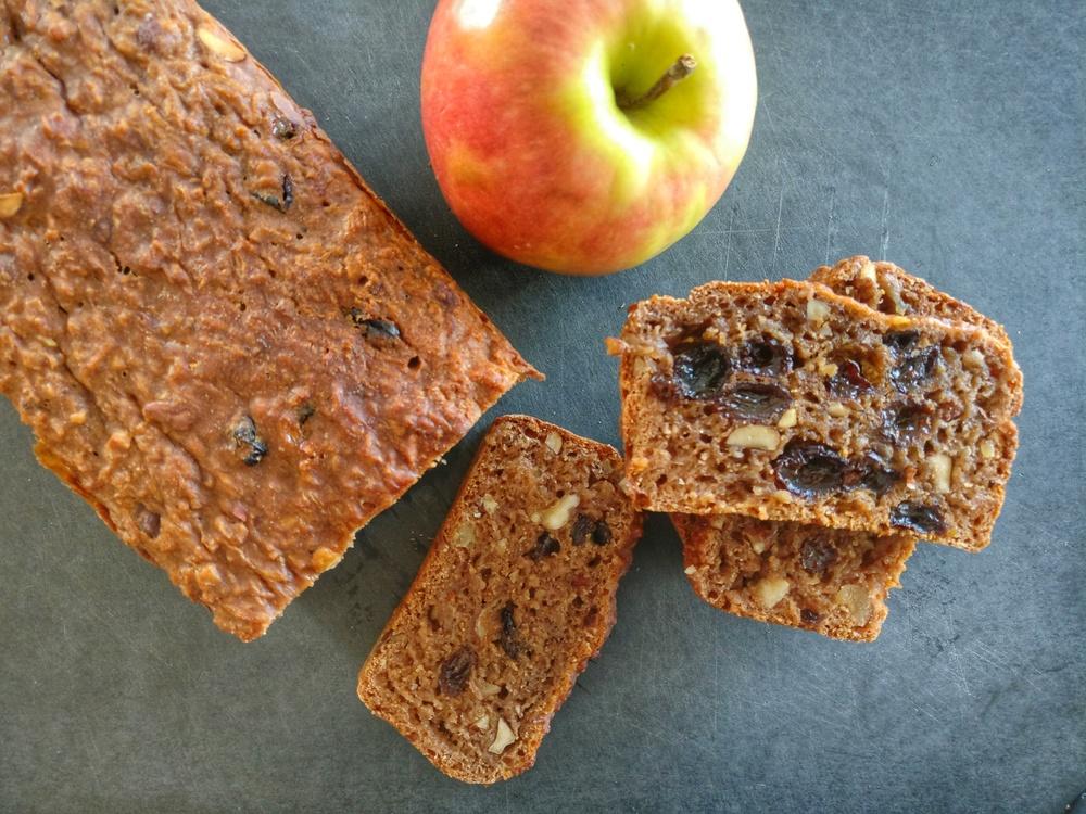 Tolles Apfel-Haselnuss-Brot