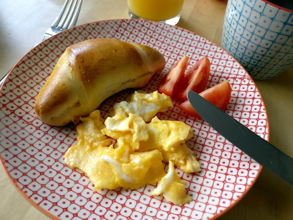 Tolle und leckere Croissants zum Frühstück