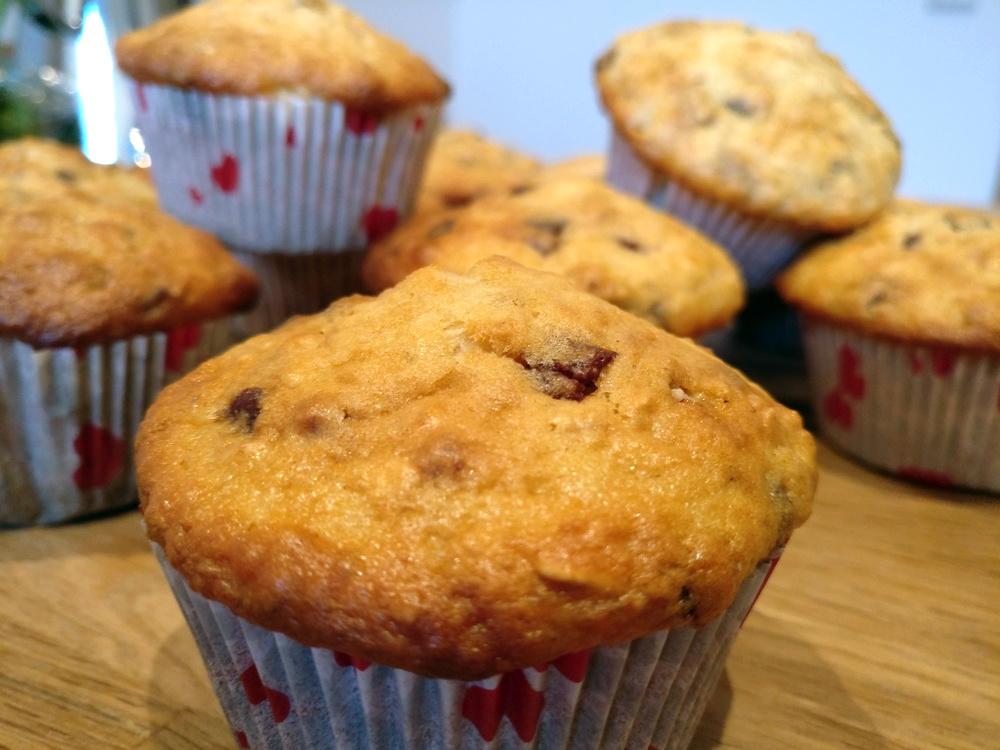 Schokomüsli-Muffins mit Joghurt