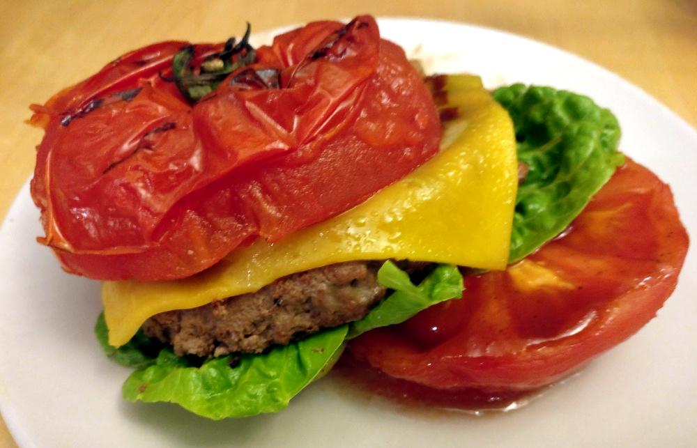 Nur sehr instabil ist der Tomaten-Burger