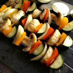 Die Gemüsespieße