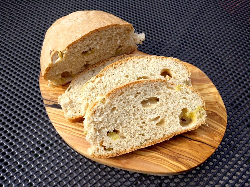 Rhabarber-Rosmarin-Brot
