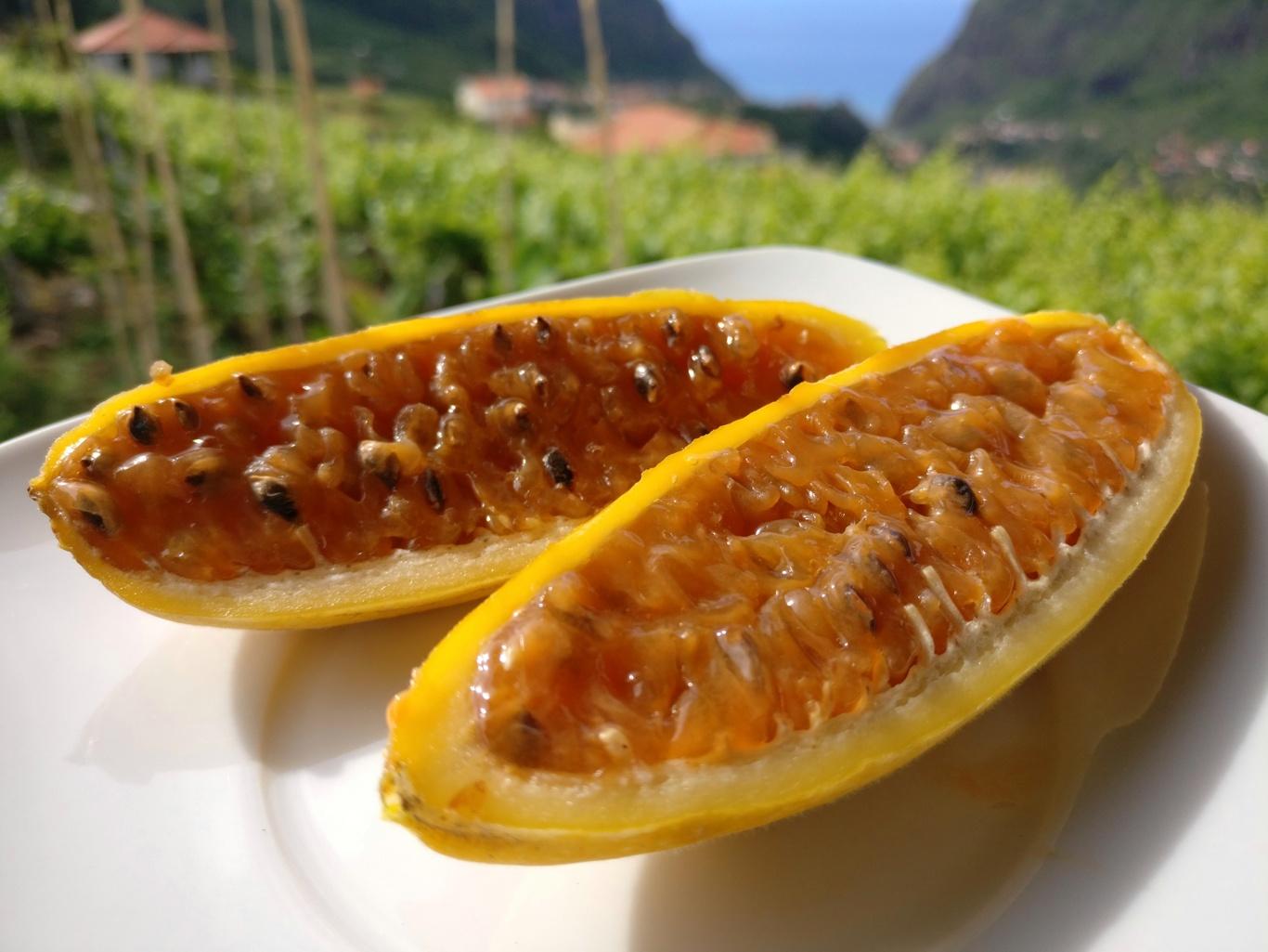 Maracuja-Bananen