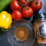Die Marinade für die Grillspieße mit Maiskolben
