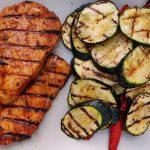 Gemüse und Fleisch ist fertig