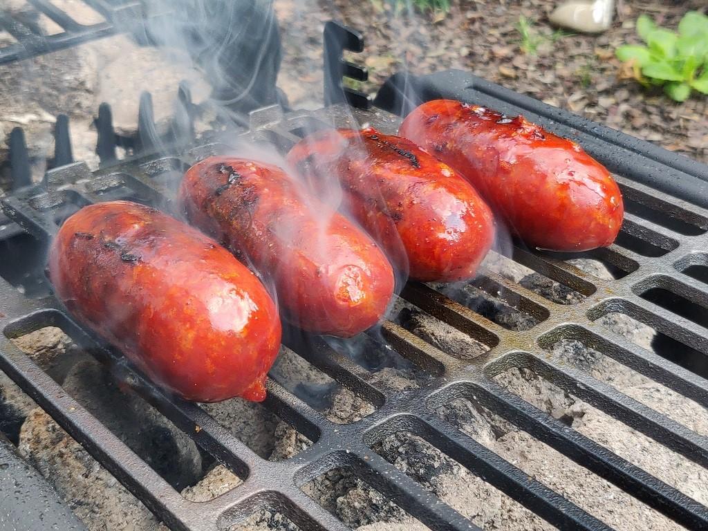 Chorizo auf dem Son of Hibachi