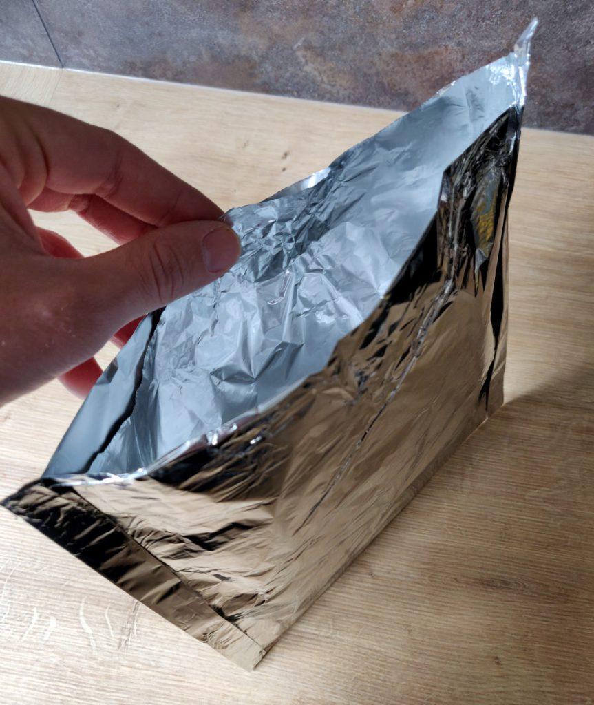 Meine selbstgebauten Alu-Grilltaschen für die zweite Grillphase