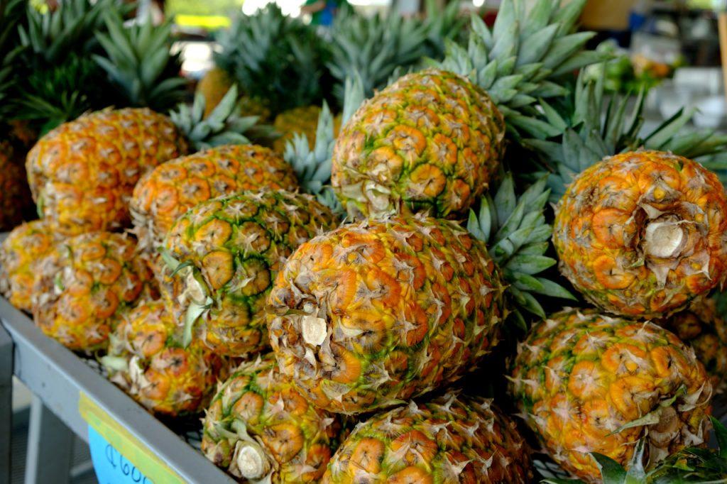 So einen Ananasgeschmack kann man in Europa nicht kaufen